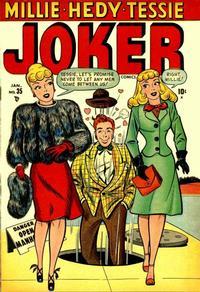 Cover Thumbnail for Joker Comics (Marvel, 1942 series) #35