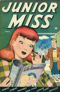 Cover Thumbnail for Junior Miss (Marvel, 1947 series) #24
