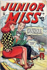 Cover Thumbnail for Junior Miss (Marvel, 1947 series) #28