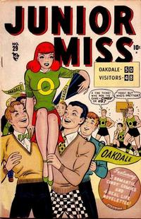 Cover Thumbnail for Junior Miss (Marvel, 1947 series) #29