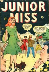 Cover Thumbnail for Junior Miss (Marvel, 1947 series) #30