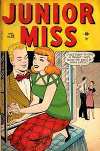 Cover Thumbnail for Junior Miss (Marvel, 1947 series) #32