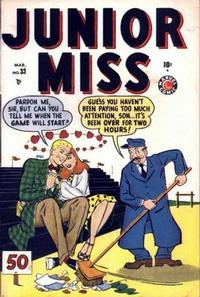Cover Thumbnail for Junior Miss (Marvel, 1947 series) #33