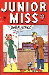 Cover Thumbnail for Junior Miss (Marvel, 1947 series) #34