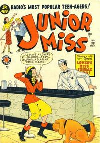 Cover Thumbnail for Junior Miss (Marvel, 1947 series) #38