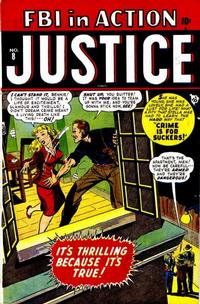 Cover Thumbnail for Justice (Marvel, 1947 series) #8 [2]