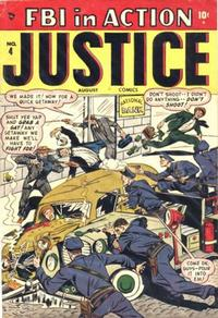 Cover Thumbnail for Justice (Marvel, 1947 series) #4