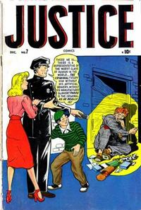 Cover Thumbnail for Justice (Marvel, 1947 series) #7