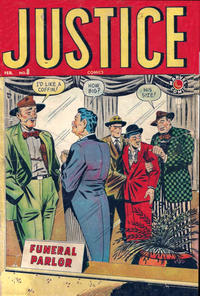 Cover Thumbnail for Justice (Marvel, 1947 series) #8