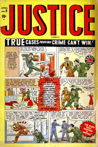 Cover Thumbnail for Justice (Marvel, 1947 series) #9