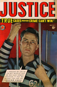 Cover Thumbnail for Justice (Marvel, 1947 series) #11