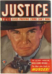 Cover Thumbnail for Justice (Marvel, 1947 series) #15