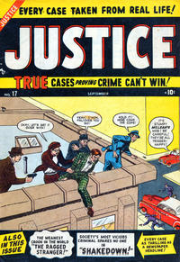 Cover Thumbnail for Justice (Marvel, 1947 series) #17