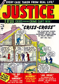 Cover Thumbnail for Justice (Marvel, 1947 series) #18