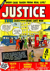 Cover Thumbnail for Justice (Marvel, 1947 series) #19