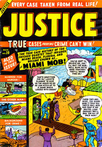 Cover Thumbnail for Justice (Marvel, 1947 series) #20