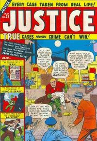 Cover Thumbnail for Justice (Marvel, 1947 series) #21