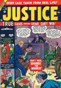 Cover Thumbnail for Justice (Marvel, 1947 series) #24