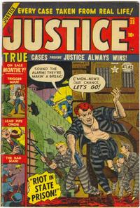 Cover Thumbnail for Justice (Marvel, 1947 series) #33