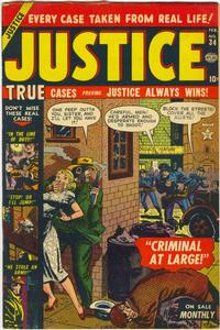 Cover Thumbnail for Justice (Marvel, 1947 series) #34