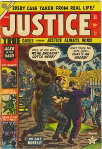 Cover Thumbnail for Justice (Marvel, 1947 series) #39