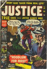 Cover Thumbnail for Justice (Marvel, 1947 series) #40