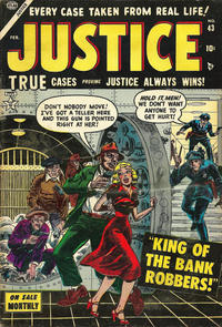 Cover Thumbnail for Justice (Marvel, 1947 series) #43