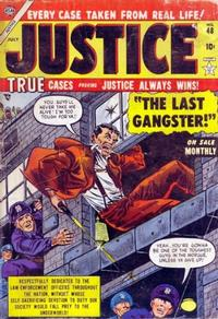 Cover Thumbnail for Justice (Marvel, 1947 series) #48