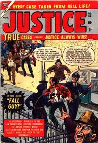 Cover Thumbnail for Justice (Marvel, 1947 series) #50