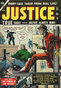 Cover Thumbnail for Justice (Marvel, 1947 series) #51