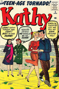 Cover Thumbnail for Kathy (Marvel, 1959 series) #5