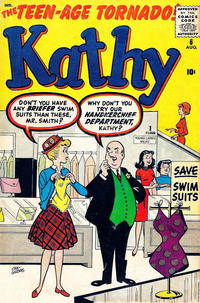 Cover Thumbnail for Kathy (Marvel, 1959 series) #6