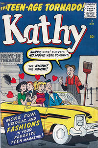 Cover Thumbnail for Kathy (Marvel, 1959 series) #7