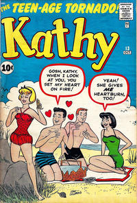 Cover Thumbnail for Kathy (Marvel, 1959 series) #13