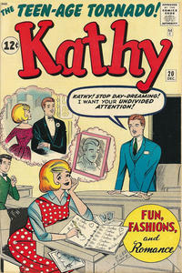 Cover Thumbnail for Kathy (Marvel, 1959 series) #20