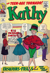 Cover Thumbnail for Kathy (Marvel, 1959 series) #23