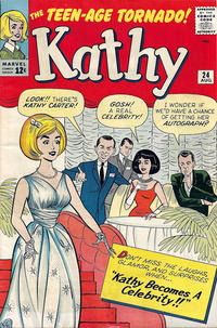 Cover Thumbnail for Kathy (Marvel, 1959 series) #24
