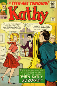 Cover Thumbnail for Kathy (Marvel, 1959 series) #25