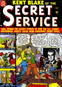 Cover Thumbnail for Kent Blake of the Secret Service (Marvel, 1951 series) #1