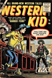 Cover Thumbnail for Western Kid (Marvel, 1954 series) #5