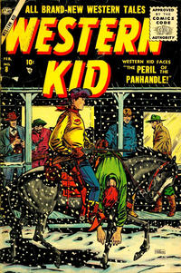 Cover Thumbnail for Western Kid (Marvel, 1954 series) #8
