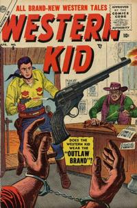 Cover Thumbnail for Western Kid (Marvel, 1954 series) #9