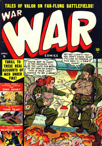 Cover Thumbnail for War Comics (Marvel, 1950 series) #3