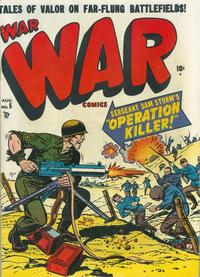 Cover Thumbnail for War Comics (Marvel, 1950 series) #5