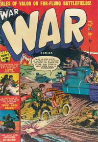 Cover Thumbnail for War Comics (Marvel, 1950 series) #7