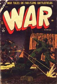 Cover Thumbnail for War Comics (Marvel, 1950 series) #25