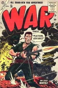 Cover Thumbnail for War Comics (Marvel, 1950 series) #34