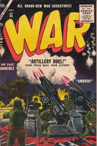 Cover Thumbnail for War Comics (Marvel, 1950 series) #35