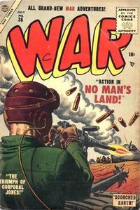 Cover Thumbnail for War Comics (Marvel, 1950 series) #36