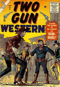 Cover Thumbnail for Two Gun Western (Marvel, 1956 series) #6